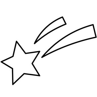 [No color] Shooting star