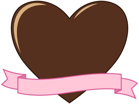 Chocolate and ribbon4