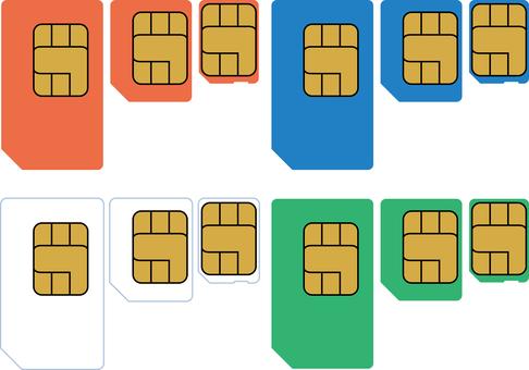SIM card set Mobile phone Smartphone