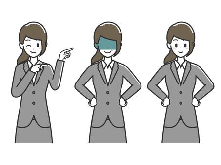 Female upper body suit 4