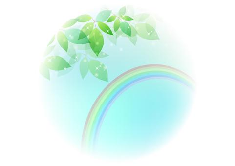 Fresh green material 74