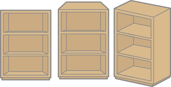 삼단 상자