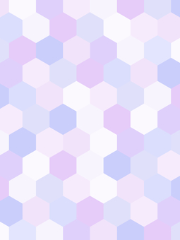 Geometric pattern background material / purple