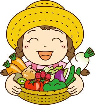 Vegetable girl 2