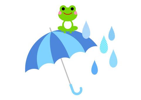 Rainy season image material 165