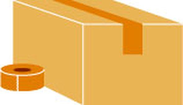 Cardboard & gum tape
