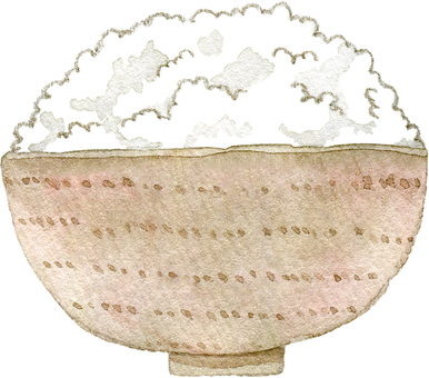 Pile of rice
