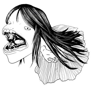 卡通插圖日本魚