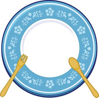 Plate Board (Blue)