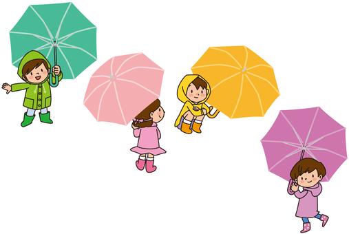 Umbrella × 4