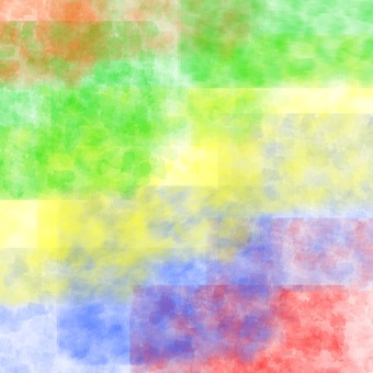 Rainbow colors and paper