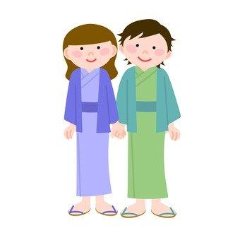 夫妻 - 日式溫泉旅館2