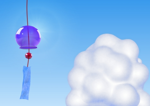 Wind chimes and Ice cloud