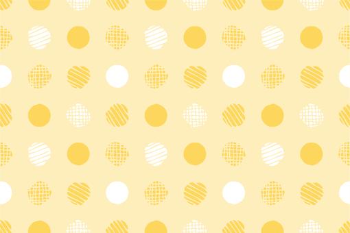 Pattern 81 Endless Polka Yellow