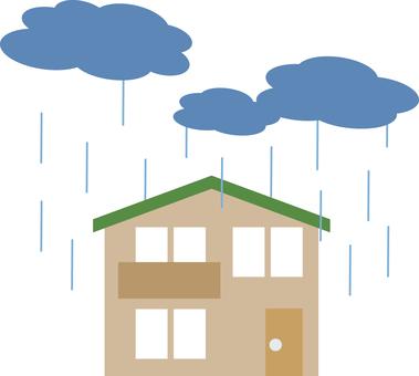 雨(住宅)