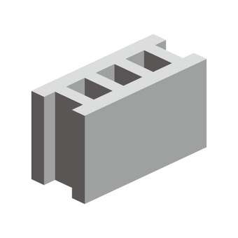Concrete block (no wire)