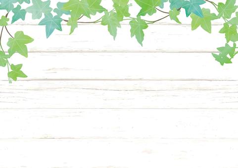 Green and wood board frame 2