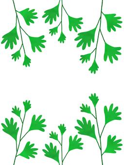 Leaf frame vertical