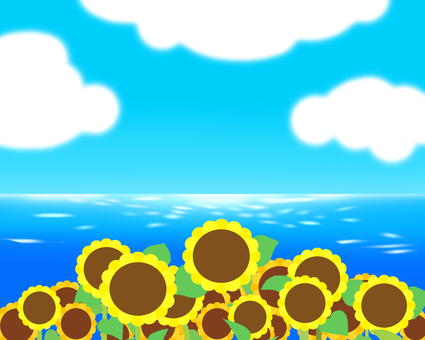 The sea of sunflower