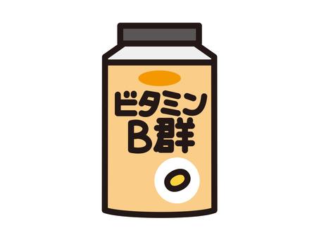 Supplement vitamin B group