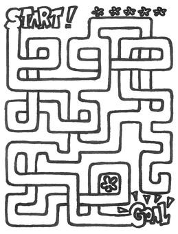 Maze - 8 maze simple