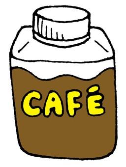 Bottled coffee