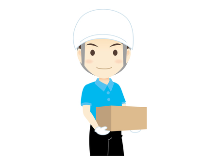 H011_ delivery man