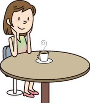 一個咖啡廳