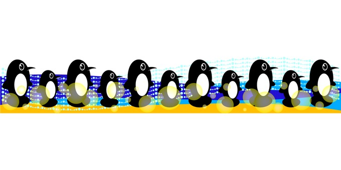 Penguin decoration 01
