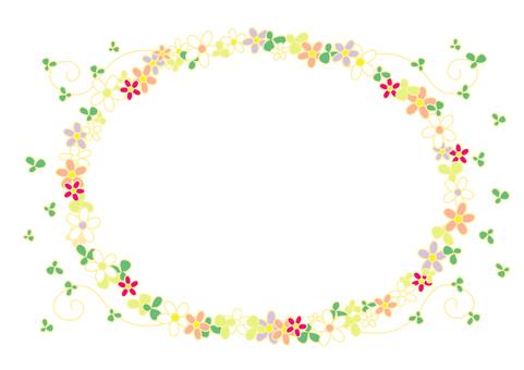 Flowering bloom frame 2