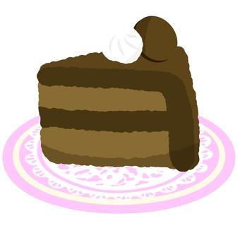 巧克力蛋糕③