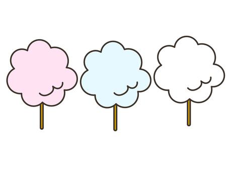 Cotton candy set