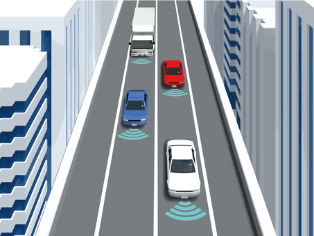 고속도로 자동 운전 2