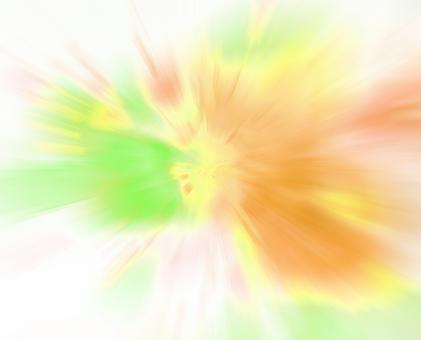 스피드 - 연두색과 주황색