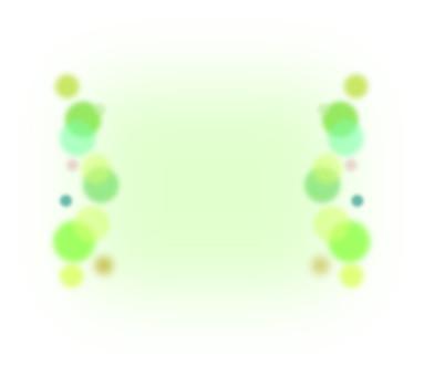 Green polka dot frame
