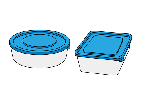 Tupperware (with outline)