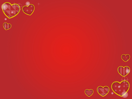 Heart decorative frame 14