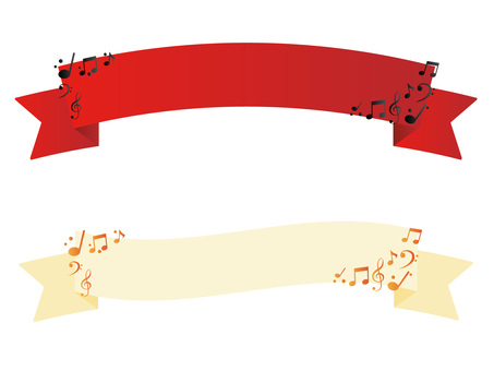 Ribbon of note 2