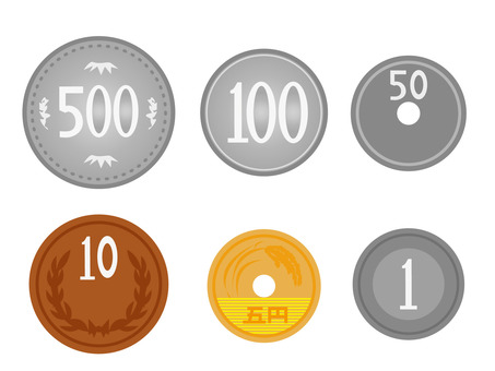 Money coin set