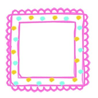 Handwritten cute frame 2