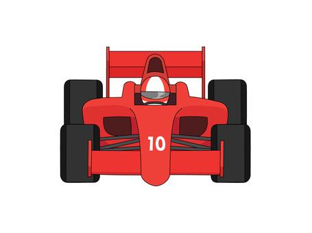 Formula car No. 1