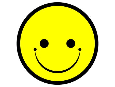 笑臉微笑標記