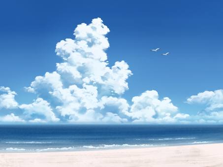 Seas and clouds 1