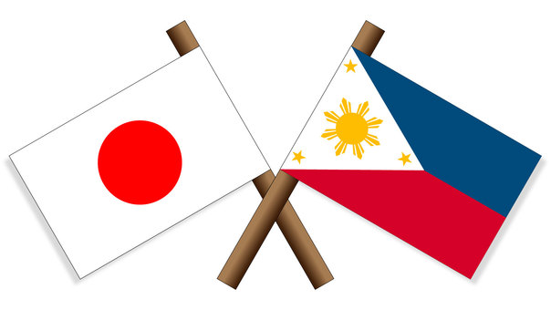Flag Japan × Philippines