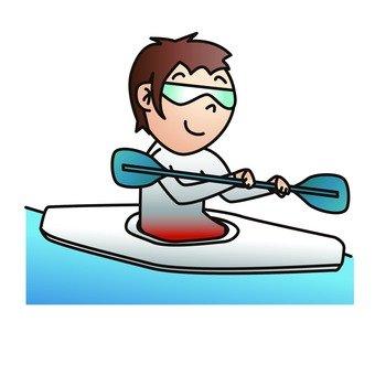 Canoe players