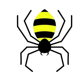 Spider (yellow)