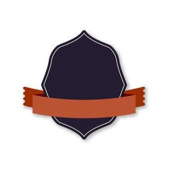 Black Emblem (Brown Ribbon)