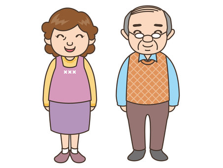人物/老夫婦