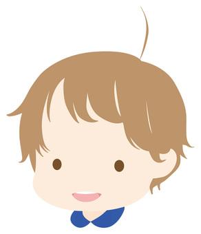 Boy facial expression 02