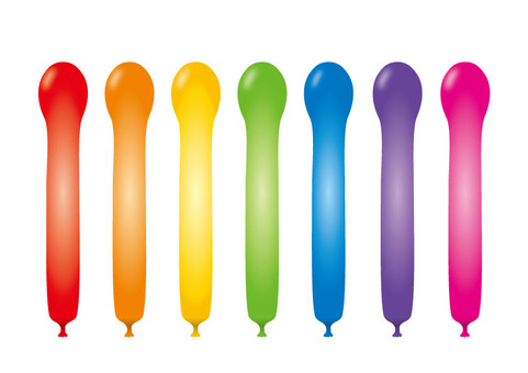 Jet balloons 701